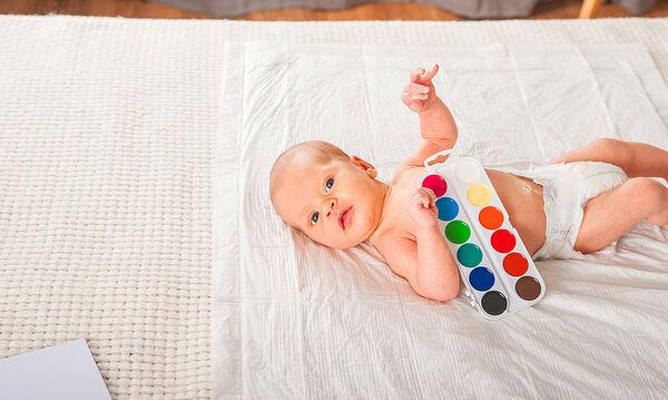 Δραστηριότητες για μωρό ενός μηνός (1 μήνα)
