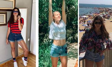 Πώς θα φορέσετε το jean shorts όπως οι Ελληνίδες celebrities