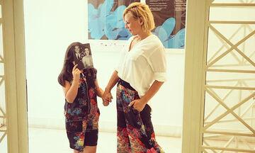 Κατερίνα Καραβάτου: Τι έκανε η κόρη της και τη συγκίνησε πολύ (pics)