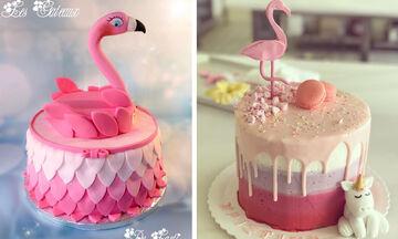 Καλοκαιρινές τούρτες φλαμίνγκο: Δέκα προτάσεις για να πάρετε ιδέες (pics)