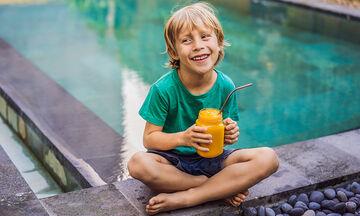 Smoothie φουλ στη βιταμίνη C για παιδιά