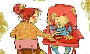Η ρεαλιστική πλευρά της μητρότητας μέσα από ευφάνταστα σκίτσα (pics)