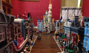Απίστευτο! Μπαμπάς έφτιαξε τη Disneyland χρησιμοποιώντας 60.000 τουβλάκια