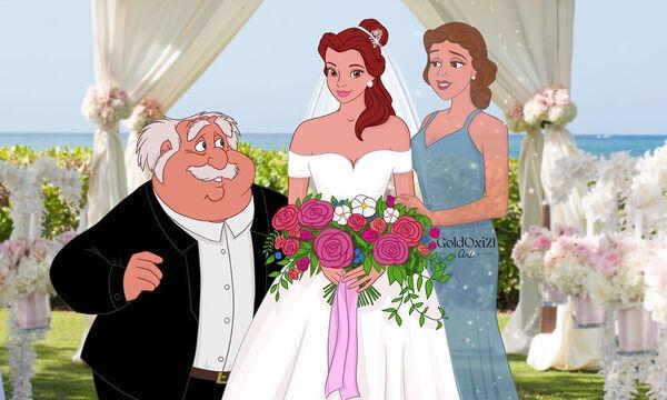 Πρίγκιπισσες μεταμορφώνονται σε νύφες & οι γονείς τους είναι δίπλα τους
