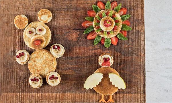 Κυριακάτικο πρωινό: Παιδικά pancakes του Άκη - Απλά ονειρικά