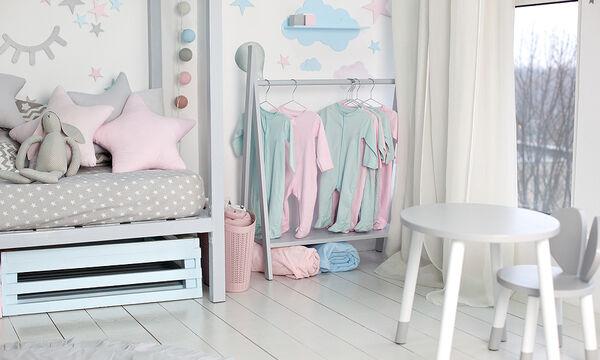 Παιδικό δωμάτιο: Έξυπνες ιδέες διακόσμησης για εξοικονόμηση χώρου (vid)
