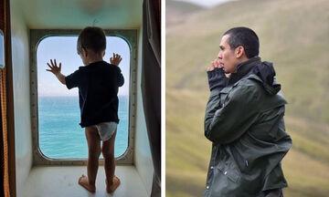 Δείτε τη νέα φωτογραφία του γιου του Σωτήρη Κοντιζά (pics)