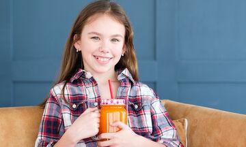 Κάντε boost τον οργανισμό του παιδιού σας με αυτό το smoothie καρότου