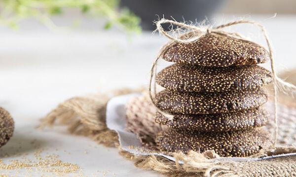 Αφράτα κουλουράκια με αμάρανθο από τον Άκη Πετρετζίκη
