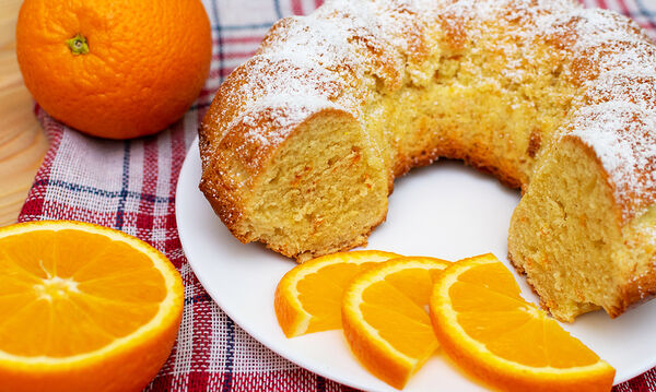 Αφράτο κέικ πορτοκάλι - Το πιο νόστιμο που έχετε δοκιμάσει
