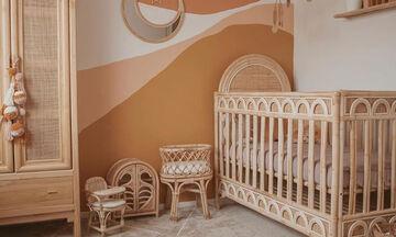 Γήινα χρώματα στο παιδικό δωμάτιο: 10 ιδέες διακόσμησης (pics)