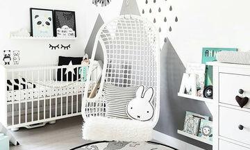 Απίθανα παιδικά δωμάτια σε μαύρο και άσπρο (vid)