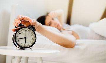 Είκοσι tips που θα σας βοηθήσουν να κοιμηθείτε σε λιγότερο από ένα λεπτό