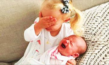Ξεκαρδιστικό βίντεο: Όταν τα παιδιά συναντούν τα νεογέννητα αδερφάκια τους