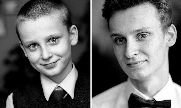 Υπέροχα πορτρέτα δείχνουν πόσο αλλάζουν τα παιδιά στο πέρασμα των χρόνων