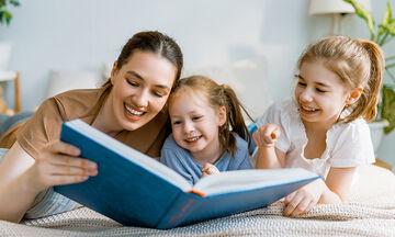 Πέντε λόγοι να συνεχίσετε να διαβάζετε βιβλία στο παιδί σας