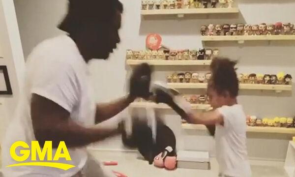 Οι ικανότητες αυτού του 6χρονου κοριτσιού στο μποξ θα σας εντυπωσιάσουν
