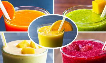 Δέκα υγιεινά smoothies που βοηθούν στην απώλεια βάρους