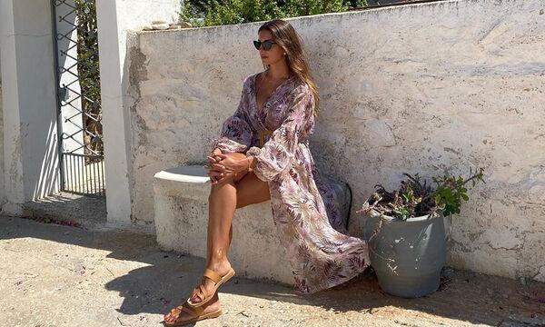 Σταματίνα Τσιμτσιλή: Η σέξι φωτογραφία από τη μεσημεριανή σιέστα