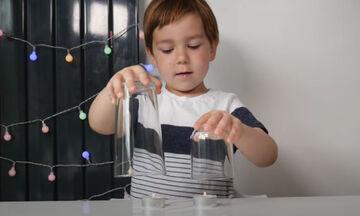 Πειράματα για παιδιά: Δείτε τι μπορείτε να κάνετε με δύο κεράκια