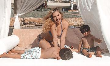 Χριστίνα Αλούπη: Το φωτογραφικό άλμπουμ των διακοπών της στη Χαλκιδική
