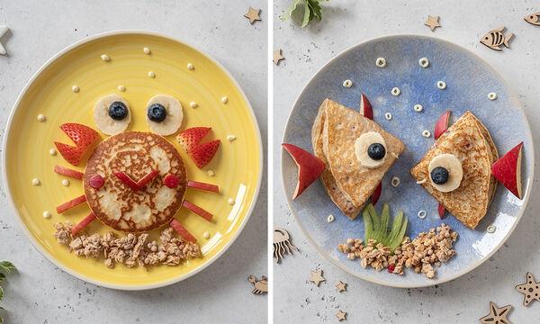 Πρωινό για παιδιά: Έξι προτάσεις για τα πιο καλοκαιρινά pancakes