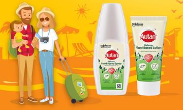 Καλοκαίρι 2020:Το Autan σου δίνει έναν λόγο λιγότερο για να αγχώνεσαι στις φετινές διακοπές