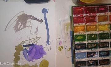 Απίθανο! Μαμά μετατρέπει τις ζωγραφιές των παιδιών της σε αριστουργήματα