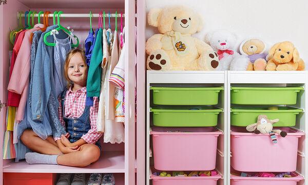 Δέκα έξυπνες ιδέες για να βάλετε τάξη στο παιδικό δωμάτιο (vid)
