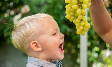 Σταφύλι στη διατροφή των παιδιών: Τα 5 σημαντικά οφέλη