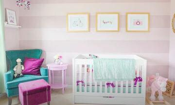 Πρωτότυποι και ιδιαίτεροι συνδυασμοί χρωμάτων για το παιδικό δωμάτιο (vid)
