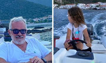 Ηλέκτρα Λύρα: Το τρυφερό φιλί στον μπαμπά της έλιωσε το Instagram
