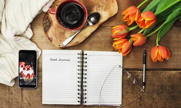 Αλήθεια, τι τρώτε; Φτιάξτε ημερολόγιο, σημειώστε και χάστε κιλά