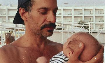 Γιώργος Χρανιώτης: Δε φαντάζεστε με ποιο τραγούδι ηρεμεί το μωρό