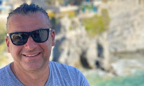 Γιώργος Λιάγκας: Η απίθανη φωτογραφία με τους γιους του στον Σκορπιό