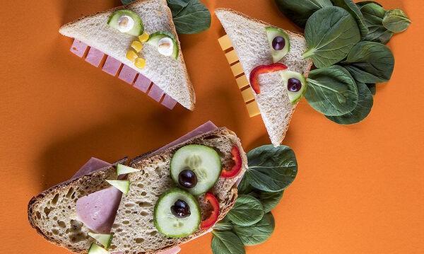 Τα μικρά σας θα λατρέψουν τα τρομακτικά σάντουιτς του Άκη
