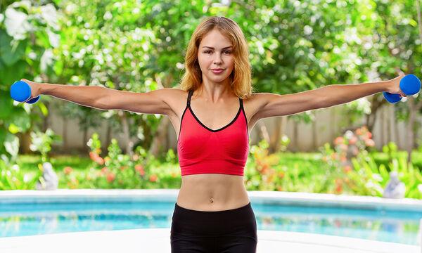 Πέντε ασκήσεις γυμναστικής για χαλαρά μπράτσα (vid)
