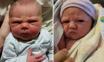 Οι γκρινιάρικες γκριμάτσες των μωρών - Δείτε ξεκαρδιστικές φωτογραφίες
