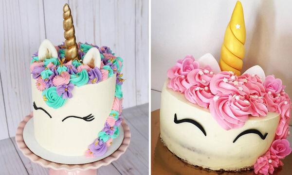Υπέροχες τούρτες Unicorn για τα πρώτα του γενέθλια - Δείτε προτάσεις