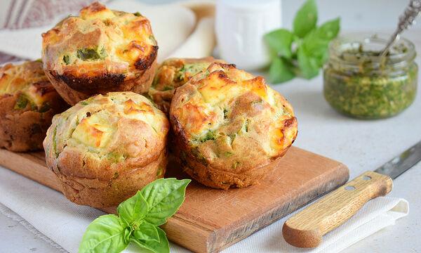 #BackToSchool: Αλμυρά muffins με σπανάκι - Το τέλειο σνακ για το σχολείο