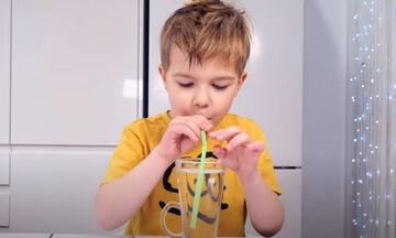 Μουσική με καλαμάκια - Μία υπέροχη δραστηριότητα για παιδιά