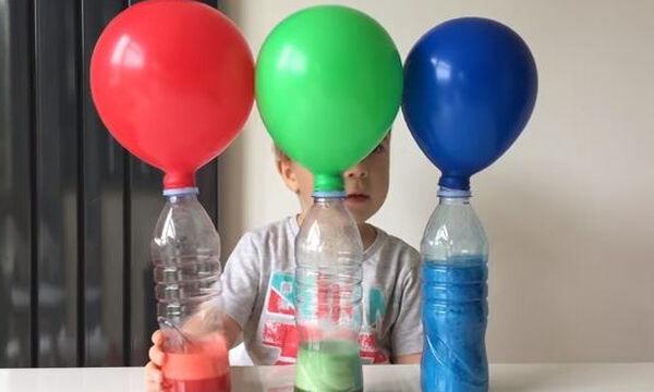 Πέντε εντυπωσιακά πειράματα με μπαλόνια που θα ξετρελάνουν τα παιδιά