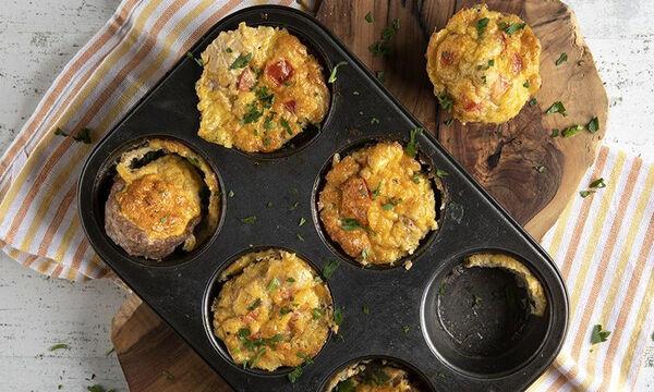 Muffins με κιμά - Μια εκπληκτική συνταγή του Άκη για κολατσιό στο σχολείο