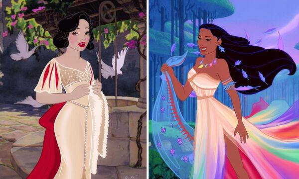Απίθανο! Καλλιτέχνης αλλάζει look στις πριγκίπισσες της Disney (pics)