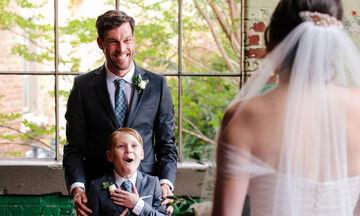 Το δώρο αυτής της νύφης στον θετό της γιο τον συγκίνησε