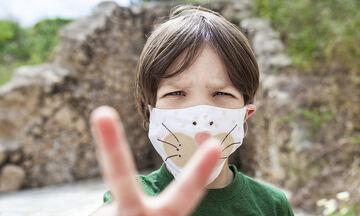 Πώς θα απολυμάνετε τις μάσκες των παιδιών σας