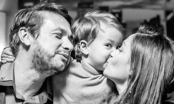 Σταύρος Νικολαΐδης: Ο γιος του πήγε πρώτη μέρα στο σχολείο - Δείτε φώτο