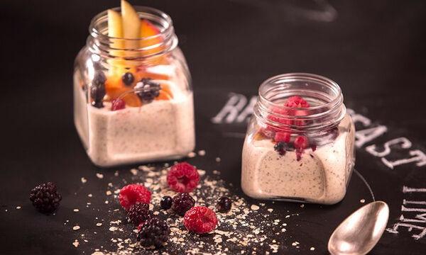 Το πιο υγιεινό και νόστιμο πρωινό με βρόμη από τον Άκη Πετρετζίκη