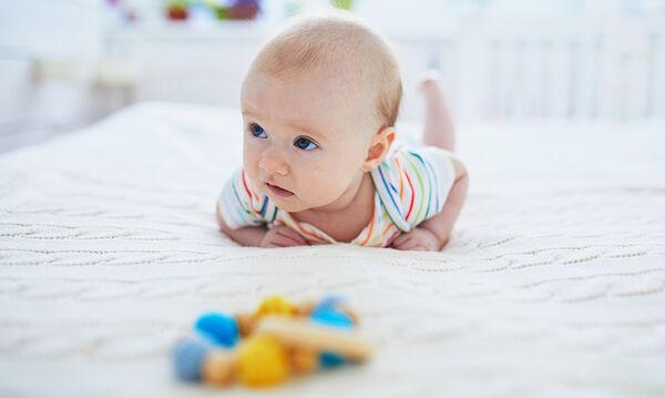 Παιχνίδια και δραστηριότητες για παιδιά 3 μηνών
