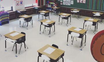 Εκπαιδευτικοί δείχνουν πώς άλλαξαν οι σχολικές αίθουσες λόγω του κορονοϊού